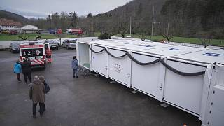 This is Europe's first cross-border mobile hospital