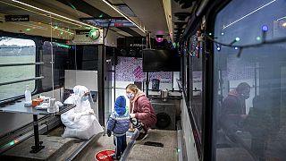 Test im Party-Bus in Dänemark