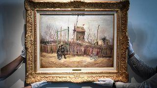 Van Gogh'un Paris dönemi tablosu 100 yıl sonra gün yüzüne çıktı