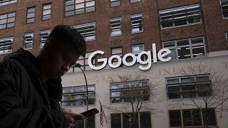 Google's offices in New York. December 2018