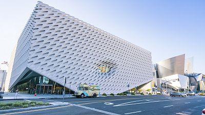 The Broad art gallery in Los Angeles.