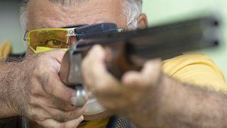 Proprietário de carreira de tiro em Americana, no Brasil