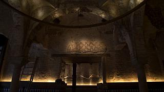 کشف حمام قرن دوازدهمی از درون یک بار در سویل اسپانیا