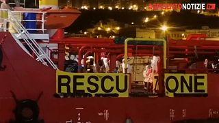 Migrants rescued in Central Mediterranean