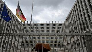 مقر دائرة المخابرات الفيدرالية الألمانية (BND) في برلين.