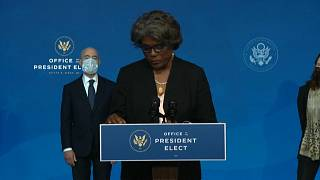 Linda Thomas-Greenfield sworn in as US envoy to United Nations