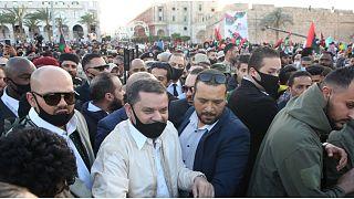 رئيس الوزاء الليبي عبد الحميد دبيبة