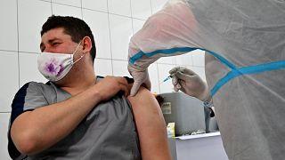 Impfung in der Ukraine