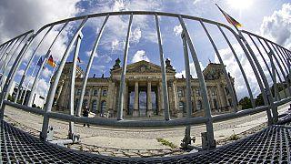 Archivaufnahme des Reichstags