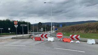 Geschlossene spanisch-portugiesische Grenze sorgt für Ärger