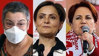 Fincancı, Kaftancıoğlu, Akşener: Erdoğan'ın önündeki üç kadın engel