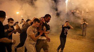درگیری و تظاهرات در بلاروس در روز ۱۰ اوت ۲۰۲۰