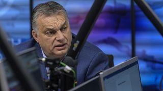 Orbán Viktor a Kossuth Rádióban 2018 decemberében