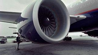 طائرة بوينغ 777 في فرجينيا. 1995/06/07