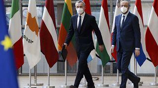 Seguridad y defensa en la segunda jornada de la Cumbre Europea