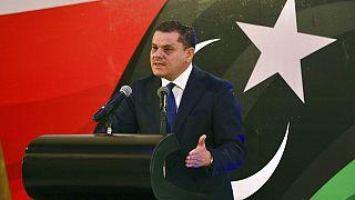 Ο μεταβατικός πρωθυπουργός της Λιβύης Άμπντελ Χαμίντ Ντμπεϊμπά