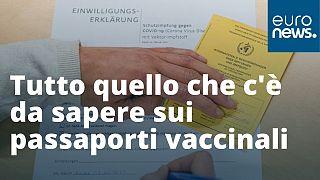 Vi spieghiamo in questo video cosa sono e a cosa potrebbero servire i cosiddetti passaporti vaccinali