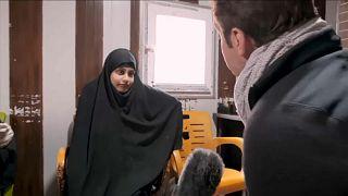 Shamima Begum, dans le nord de la Syrie, fin février 2019