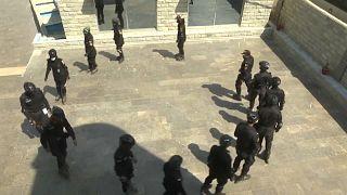 شرطة التزلج الباكستانية