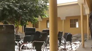 Az iskola Zamfara államban, ahonnan a lányokat elrabolták