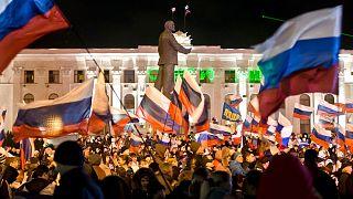 طرفداران روسیه در کریمه