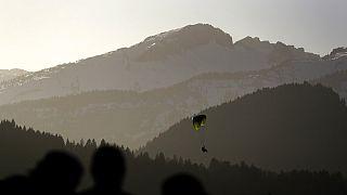 Paraglider bei Oberstdorf