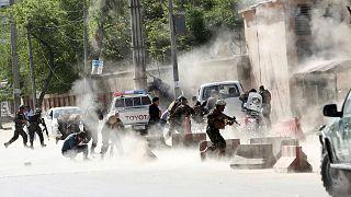آرشیو: کابل، دوشنبه ۳۰ آوریل ۲۰۱۸ میلادی، حمله انتحاری به جمع خبرنگاران در «روز خونین رسانههای افغانستان»