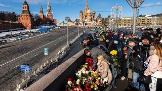 روس يحيون ذكرى اغتيال المعارض بوريس نيمتسوف