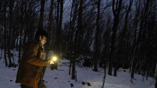 Migranten in den Alpen: Sie wollen nach Frankreich