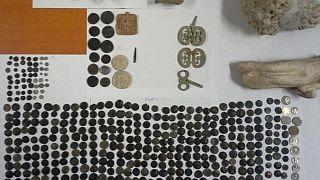 Müzeye teslim edilen eserler