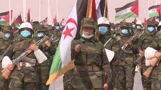 Desfile de fuerzas del Frente Polisario
