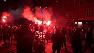 Demonstrationen in Kopenhagen gegen Corona-Beschränkungen