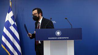 Ο κυβερνητικός εκπρόσωπος Χρήστος Ταραντίλης