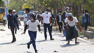 Η πιο αιματηρή καταστολή διαδηλώσεων  σε ένα 24ωρο στη Μιανμάρ
