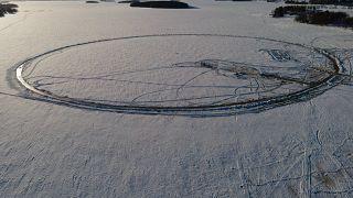Финская ледяная карусель