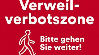 Verweilverbot der Stadt Düsseldorf