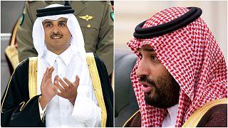 السعودية نيوز |      اتصال هاتفي بين أمير قطر وولي العهد السعودي