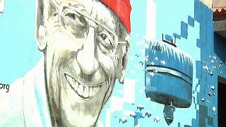 Кабо-Верде: подводная одиссея Кусто на фасаде