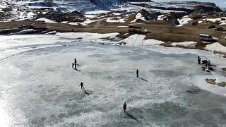 Μοτσόχ: Η λίμνη - παγοδρόμιο της Ρωσίας