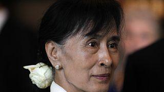 Myanmar'ın askeri darbe ile görevden alınan lideri Aung San Suu Kyi