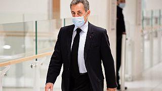 Nicolas Sarkozy, le 8 décembre 2020, au tribunal de Paris