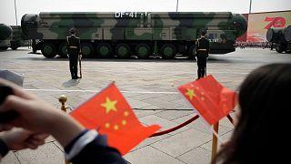 موشکهای بالیستیک چین