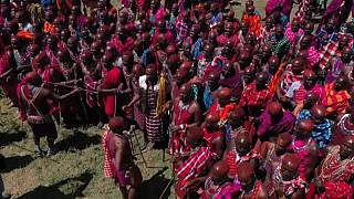 Kenya: Maasai rite of passage is a colourful and ancient tradition