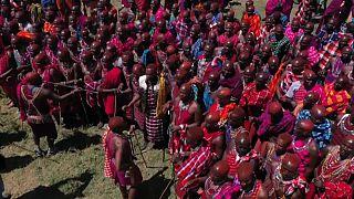 Kenya : les Maasaï célèbrent leur rite de passage