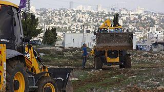 Batı Şeria'da yasadışı inşaatlar