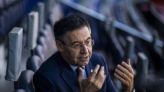 Letartóztatták a volt elnököt, házkutatás az FC Barcelonánál