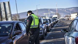 Έλεγχοι στα σύνορα της Σλοβακίας
