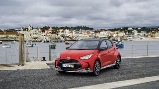 The new Toyota Yaris, European Car of the Year 2021.
