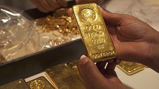 20 a 40% dos stocks mundiais de ouro passam pelo Dubai
