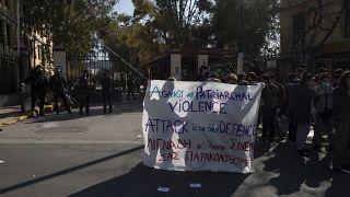 Greece Theater Abuse Claim